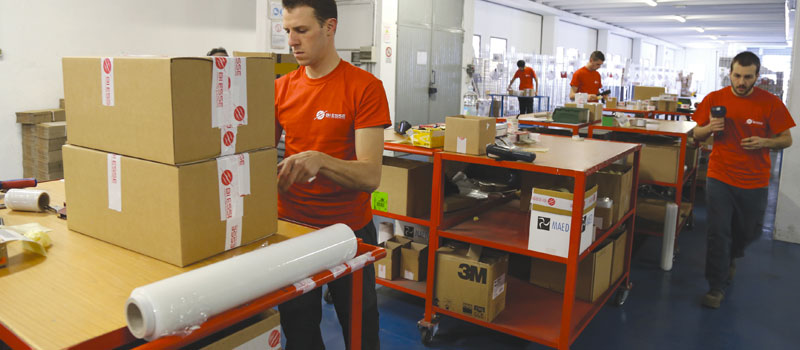 Logistica Bi Esse Forniture Elettriche